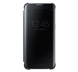 Funda Clear View S7 Negro